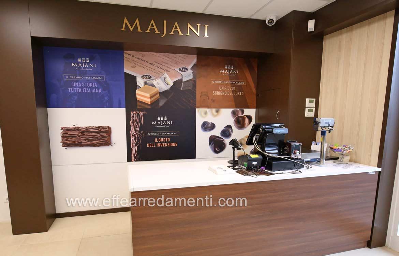 Banco Cassa Negozio cioccolatini