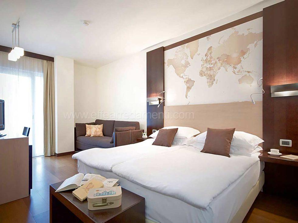 Arredamenti e allestimenti camere per hotel alberghi for Camere hotel design