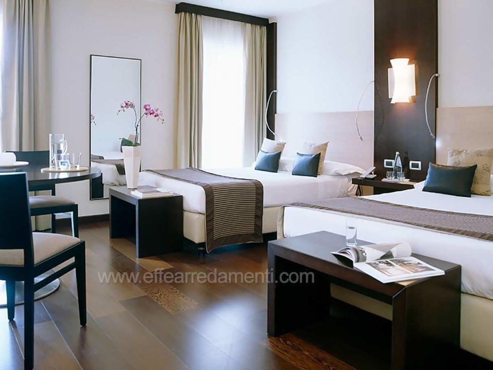 Allestimento Camere Doppie Business Per Hotel