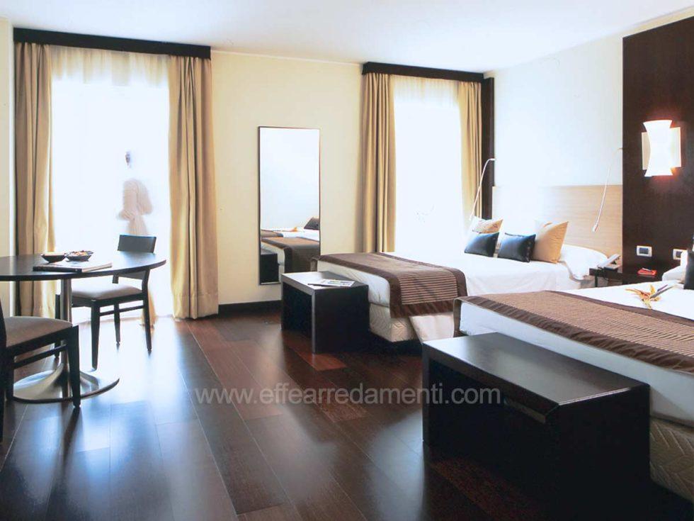 Allestimento Camere Moderne Hotel