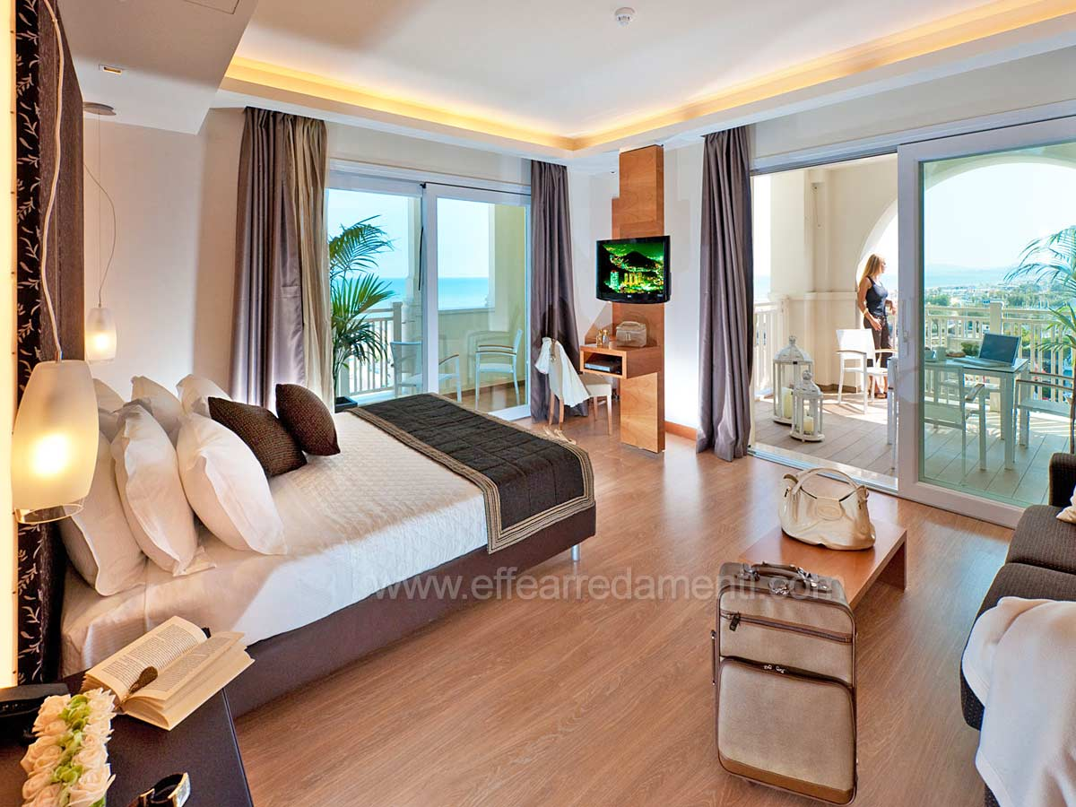 Allestimento Camere Suite Per Hotel