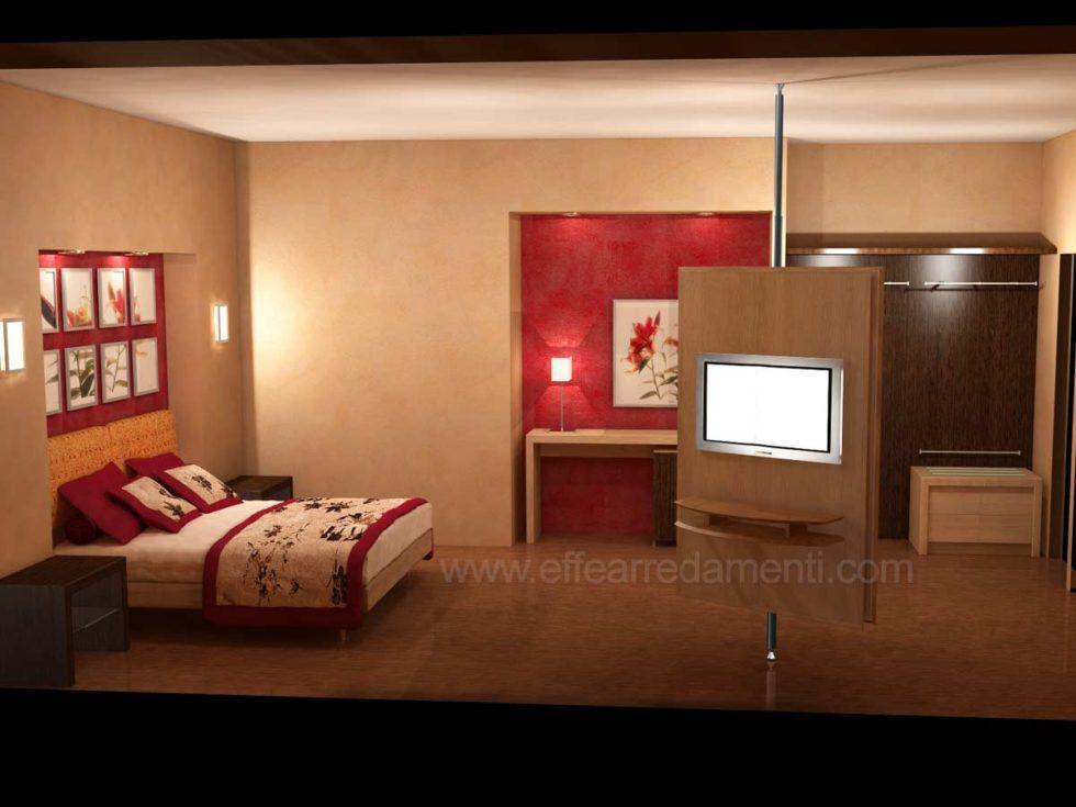 Progetto Allestimento Camere Contemporanee Hotel