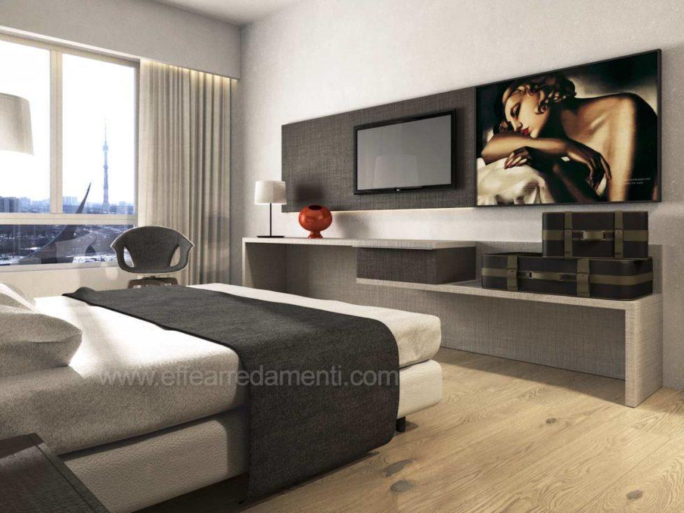 Progetto Allestimento Camere Moderne Hotel