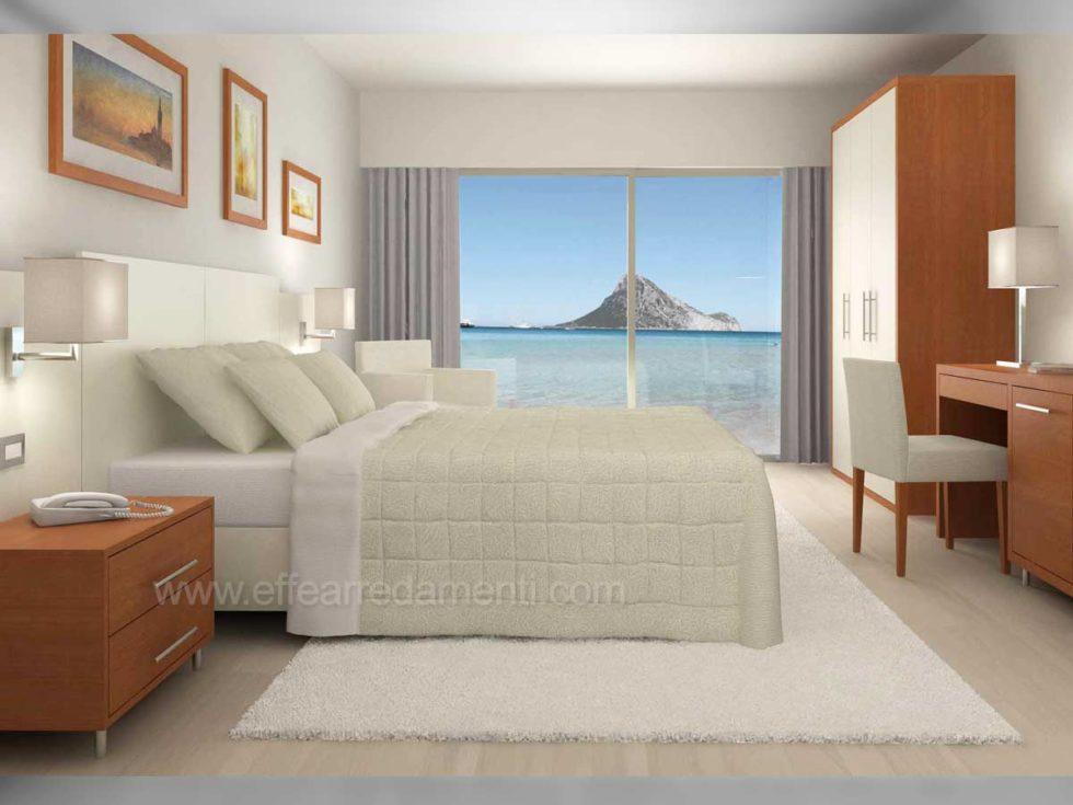 Progetto Arredo Camere Albergo vacanze mare