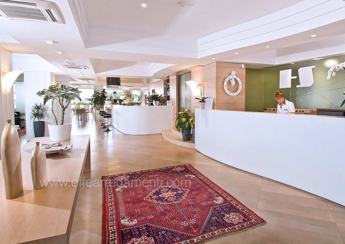 Arredamenti Banchi Reception Per Hotel Sarti
