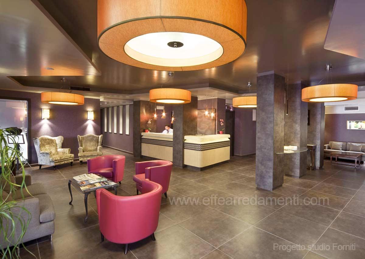 Allestimento Hotel a Roma