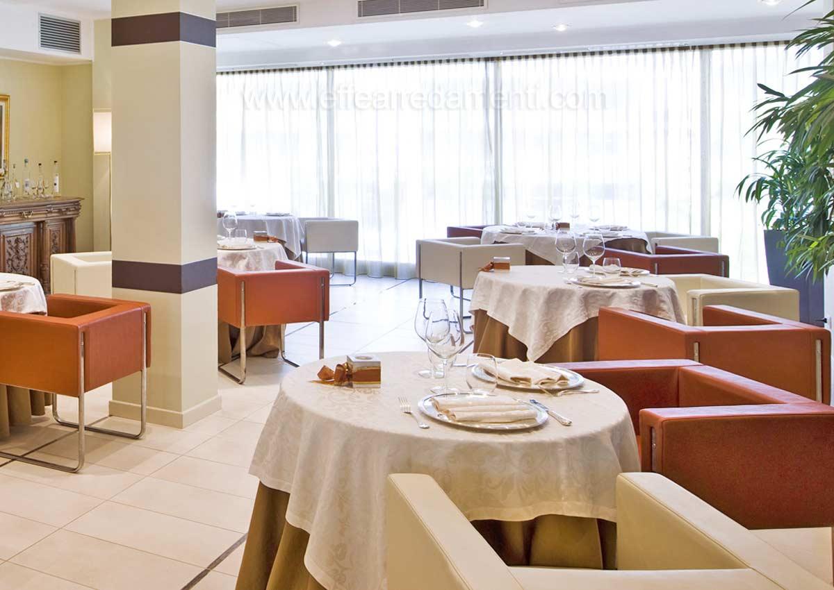 Arredamenti e allestimenti ristoranti per hotel alberghi for Arredamento ristorante italia