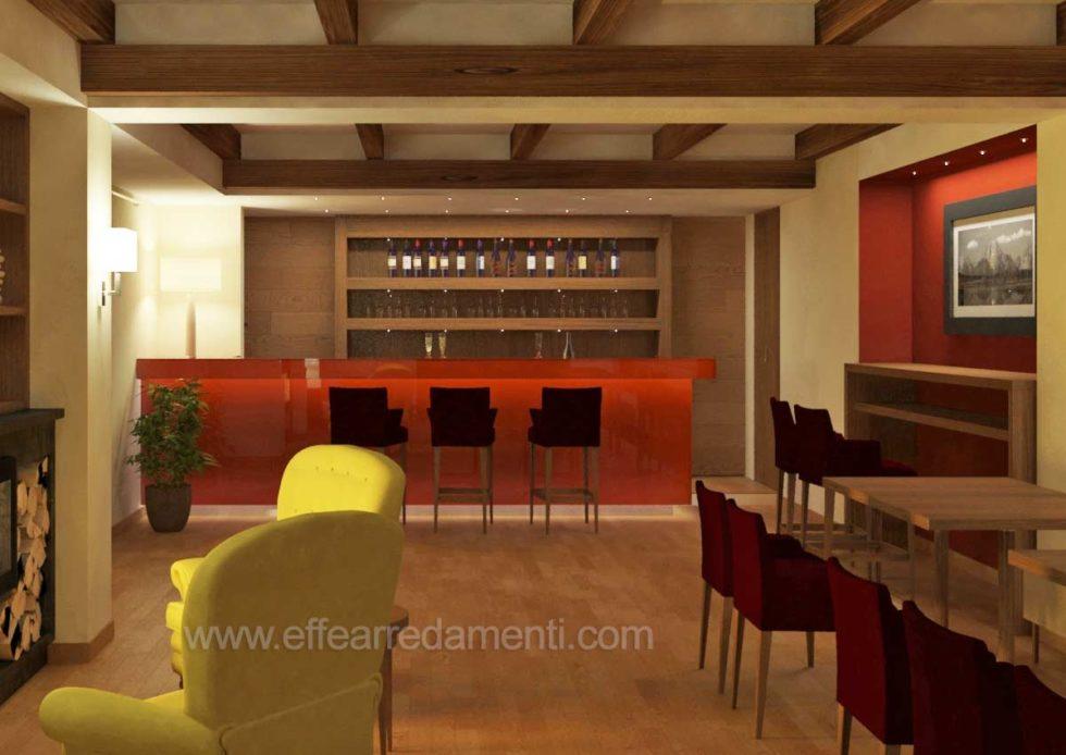 Progettazione Arredo Bar Per Hotel
