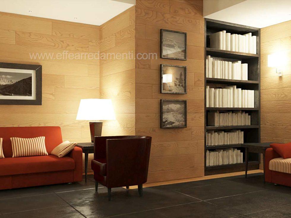Arredamenti e allestimenti hall e reception per hotel for Effe arredamenti