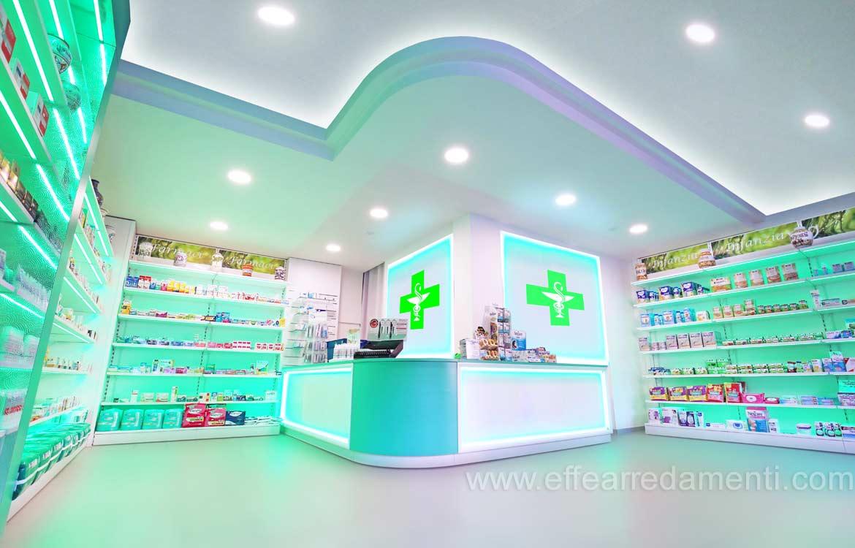 Arredamento e allestimento Farmacia a Terni