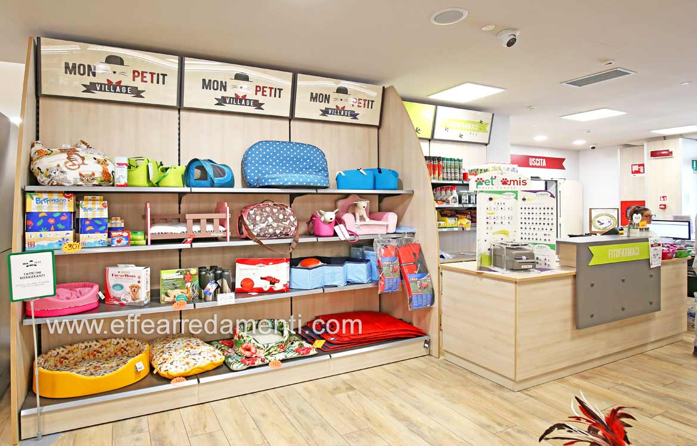 Arredamento per negozio pet shop perugia effe arredamenti for Negozi arredamento perugia
