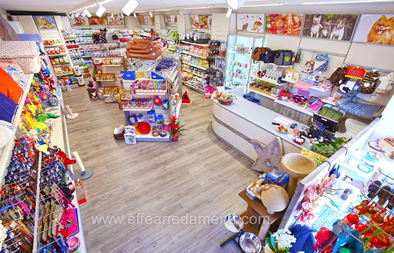Produzione mobili negozi animali