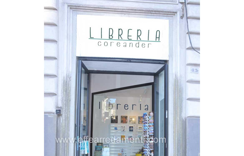 Arredamenti per negozio di libri a roma effe arredamenti for Occasioni arredamento roma