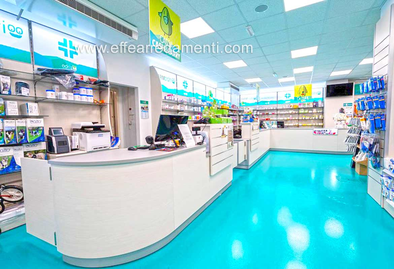Arredamento Farmacia Veterinaria Bancone vendita