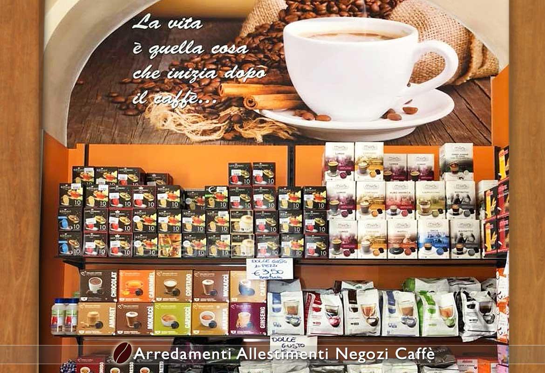 Arredamento Esposizione Capsule e Cialde Caffè