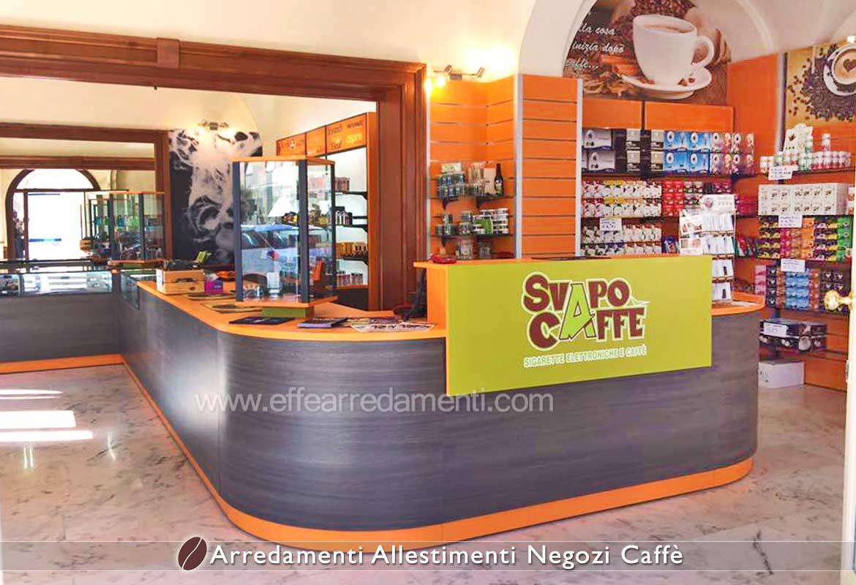 Bancone Negozio vendita Cialde capsule Caffè