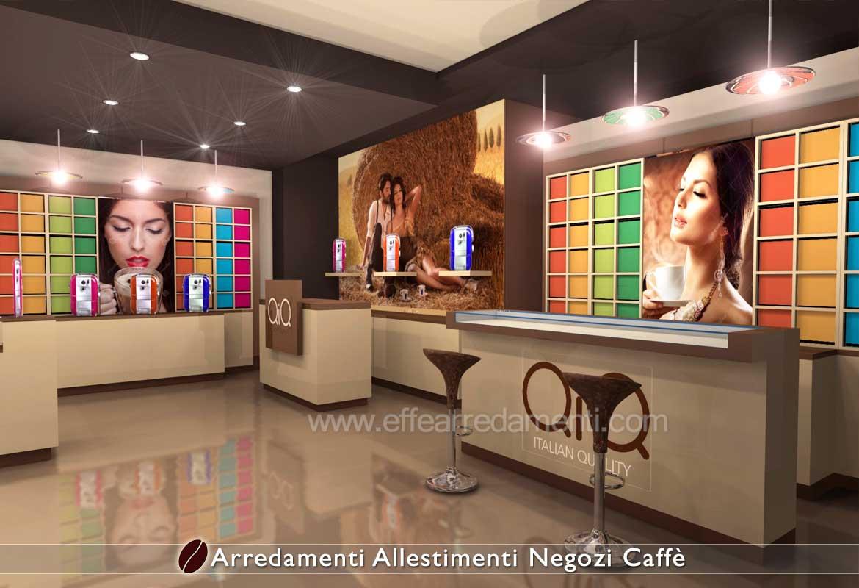 Progettazione Produzione Arredamenti Negozi Caffè