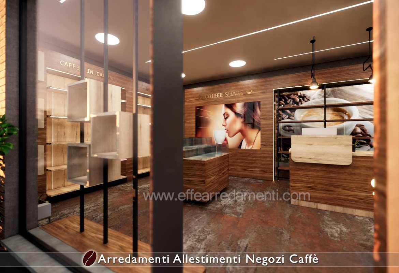 Allestimenti negozi Capsule Cialde Caffè