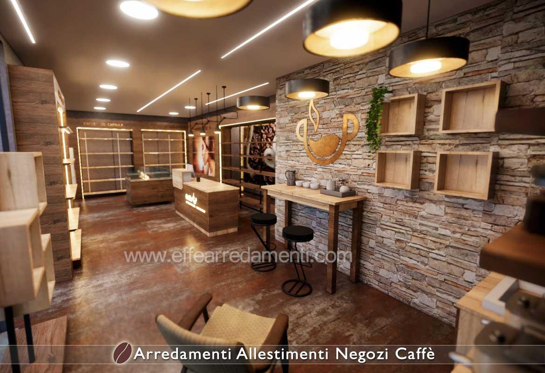 Design Coffee shop caffetteria allestimenti negozi