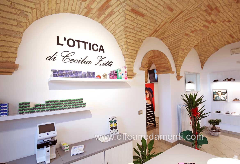Allestimento Ottica Ancona
