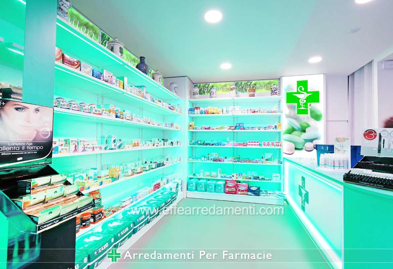 Allestimento Farmacie - Effe Arredamenti