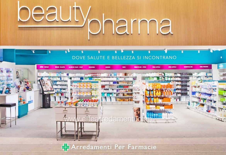 Arredamento per Farmacie presso Centri Commerciali