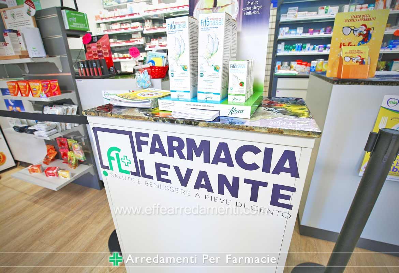 Arredamenti Farmacia Pieve di Cento Bologna