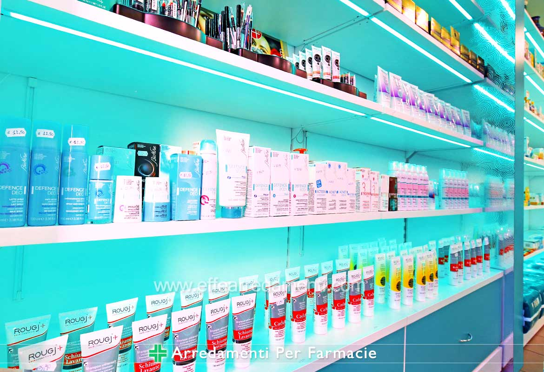 Mensole Illuminate Per Farmacie