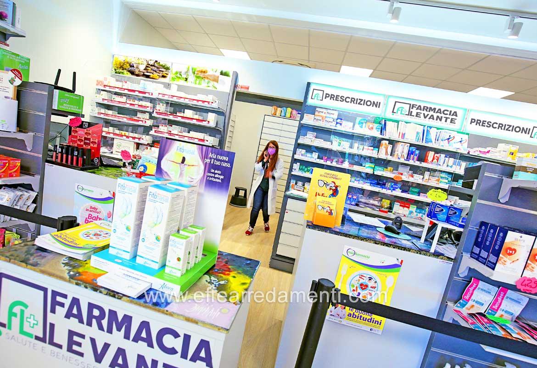 Arredamento per Farmacia Pieve di Cento - Bologna