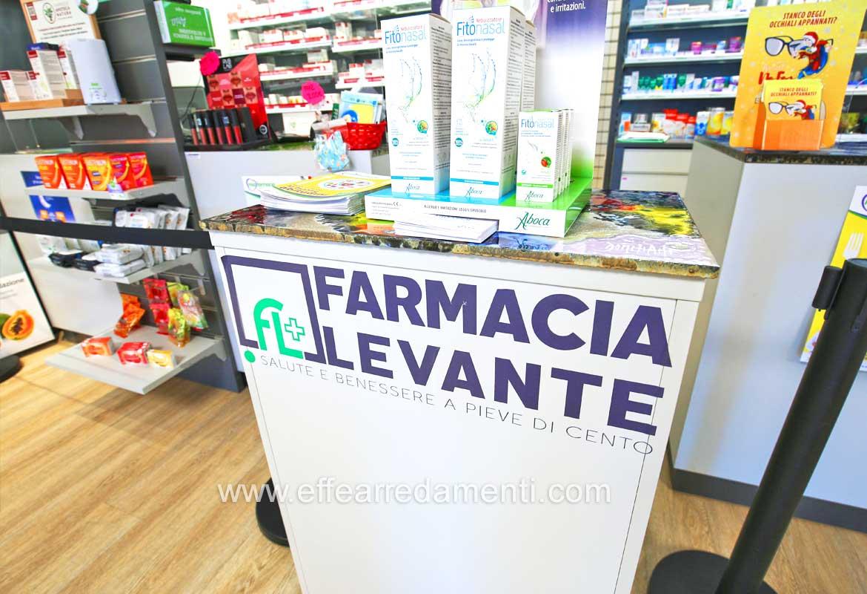 Allestimento Farmacia Pieve di Cento Bologna